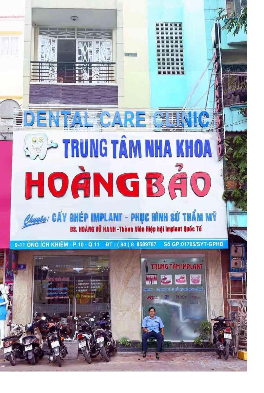 Nha khoa Hoàng Bảo địa chỉ khám chữa răng uy tín