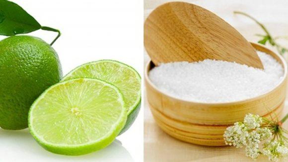 Nước cốt chanh + muối có tác dụng rất tốt trong điều trị nha chu